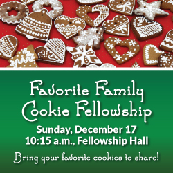 Favorite Family Cookie Fellowship