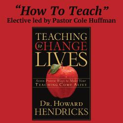 """""""How to Teach"""" Elective"""